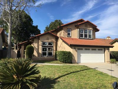 Camarillo Single Family Home Active Under Contract: 5323 Butterfield Street