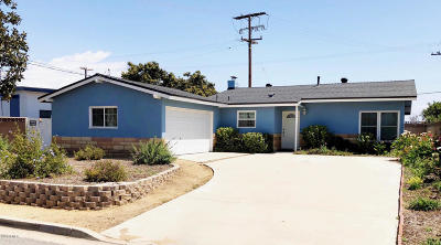Oxnard Single Family Home For Sale: 3496 George Street