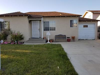 Oxnard Single Family Home Active Under Contract: 121 E Birch Street