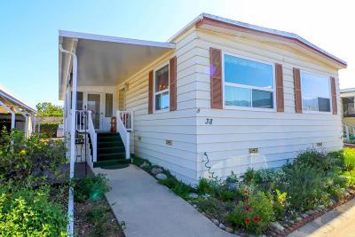 Ojai Mobile Home Active Under Contract: 38 Don Antonio Way
