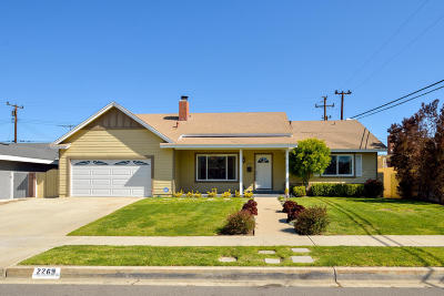 Camarillo Single Family Home For Sale: 2269 Sherborne Street