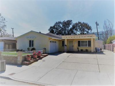 Ventura Single Family Home For Sale: 5309 Norway Drive