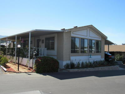 Ojai Mobile Home For Sale: 1202 Loma Drive #71