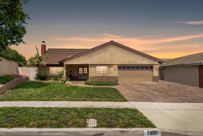 Ventura Single Family Home For Sale: 7801 El Dorado Street
