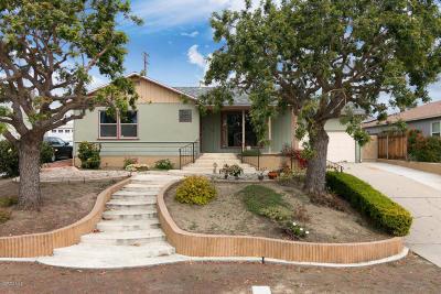 Ventura Single Family Home For Sale: 6621 Crowley Avenue