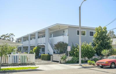 Santa Barbara Multi Family Home For Sale: 318 S Voluntario Street