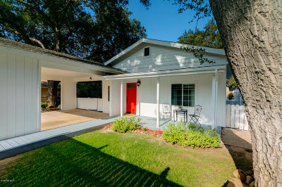 Ojai Single Family Home For Sale: 257 Encinal Avenue