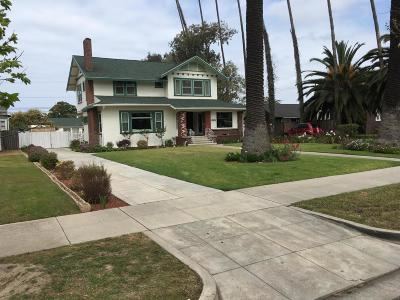 Ventura County Single Family Home Active Under Contract: 225 S F Street