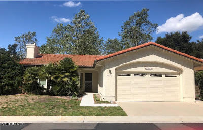 Camarillo Single Family Home Active Under Contract: 6487 San Como Lane