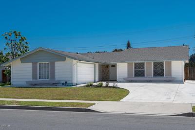 Camarillo Single Family Home For Sale: 2132 Gorman Street