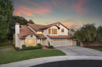Thousand Oaks Single Family Home For Sale: 2458 Chaucer Place