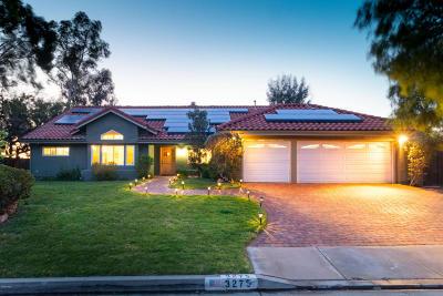 Newbury Park Single Family Home For Sale: 3275 Erinlea Avenue