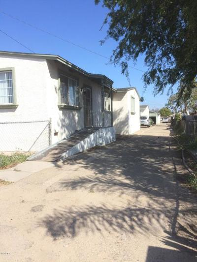 Oxnard Multi Family Home For Sale: 2496 Cortez Street