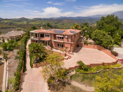 Santa Paula Single Family Home For Sale: 405 Monte Vista Drive