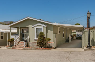 Ventura Mobile Home Active Under Contract: 71 Hackberry Drive
