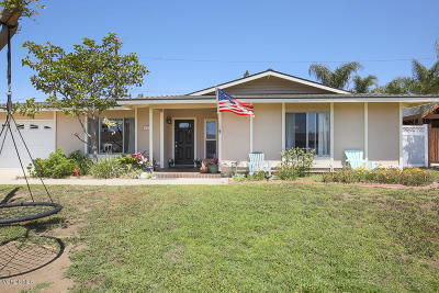 Camarillo Single Family Home Active Under Contract: 925 Euclid Avenue