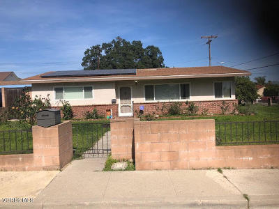 Santa Paula  Single Family Home Active Under Contract: 703 Ernest Drive