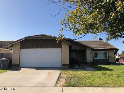 Oxnard Single Family Home Active Under Contract: 2030 W 9th Street