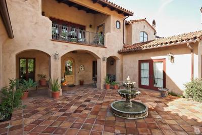 Ojai Single Family Home For Sale: 391 Montgomery Street #A
