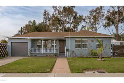Port Hueneme Single Family Home Active Under Contract: 592 Myrna Drive