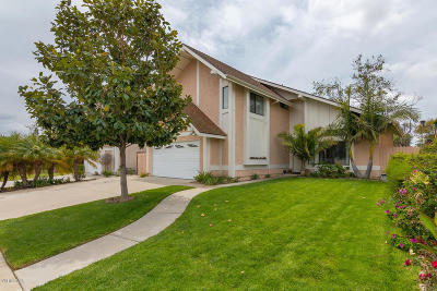 Camarillo Single Family Home Active Under Contract: 1647 Old Ranch Road