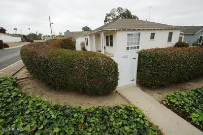 Ventura Single Family Home Active Under Contract: 6312 Bell Street