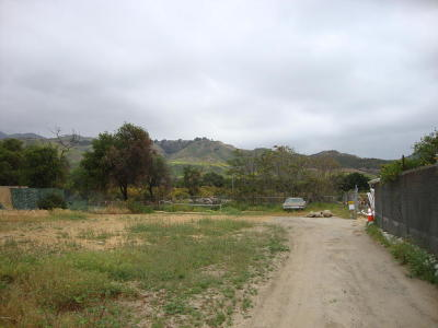 Ventura County Residential Lots & Land For Sale: 4502 Santa Paula - Ojai Road