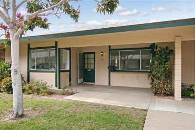 Port Hueneme Single Family Home Active Under Contract: 121 E Alta Green