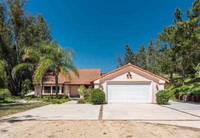 Moorpark Single Family Home For Sale: 7340 Walnut Canyon Road