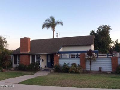Oxnard Single Family Home Active Under Contract: 320 Devonshire Drive