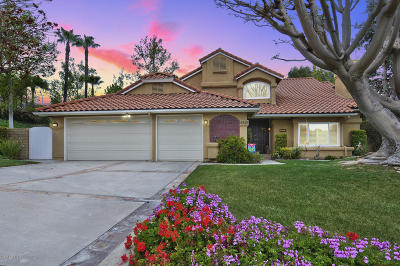 Camarillo Single Family Home Active Under Contract: 6849 Aviano Drive