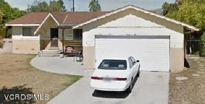Ojai CA Single Family Home For Sale: $670,000