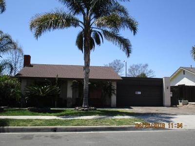 Camarillo Single Family Home For Sale: 3708 Acala Street