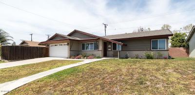 Camarillo Single Family Home For Sale: 4225 Vincente Avenue