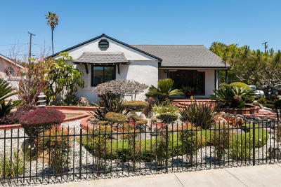 Ventura Single Family Home Active Under Contract: 3037 Channel Drive