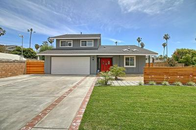 Ventura Single Family Home Active Under Contract: 998 Cove Street