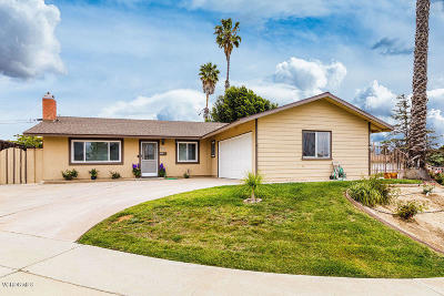 Camarillo Single Family Home For Sale: 691 Marsh Rondo