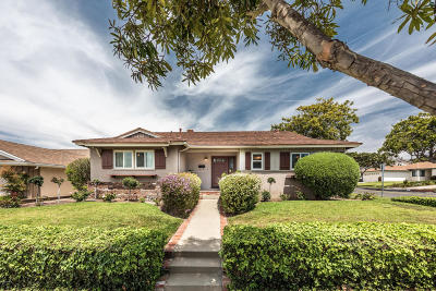 Ventura Single Family Home Active Under Contract: 4685 Student Street