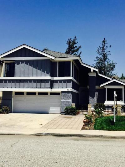 Moorpark Single Family Home Active Under Contract: 11535 Wildflower Court