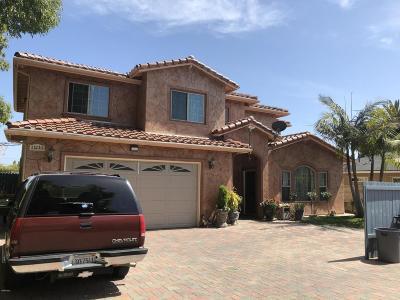 Ventura Single Family Home For Sale: 11210 Aster Street