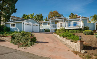 Newbury Park Single Family Home Active Under Contract: 151 Heavenly Valley Road