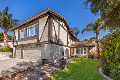 Newbury Park Single Family Home For Sale: 3249 Peppermint Street