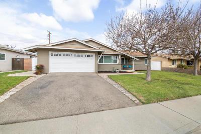 Camarillo Single Family Home Active Under Contract: 2160 Sanchez Drive