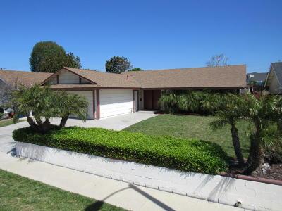 Ventura Single Family Home Active Under Contract: 6691 Ralston Street