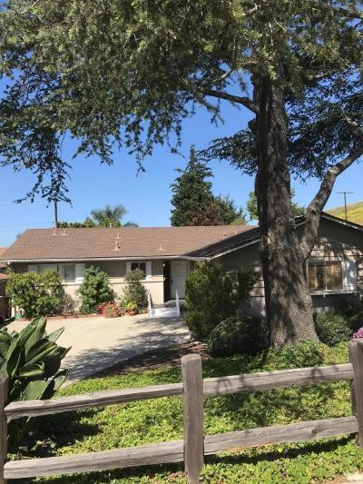 Ventura Single Family Home For Sale: 499 Seton Hall Avenue