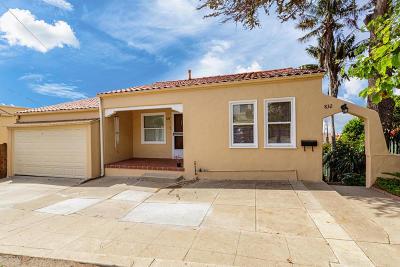 Ventura Multi Family Home For Sale: 832 Buena Vista Street