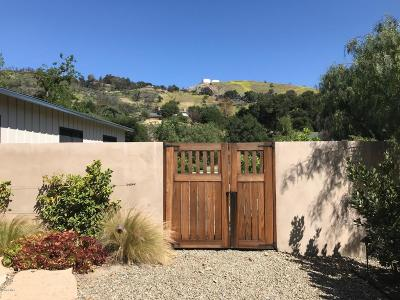 Ojai Single Family Home Active Under Contract: 11013 Creek Road