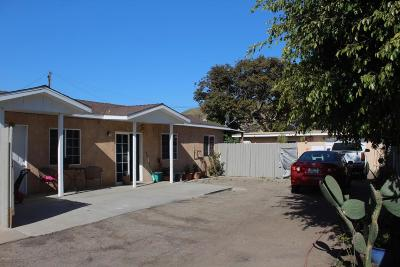 Ventura Single Family Home For Sale: 658 Sheridan Way