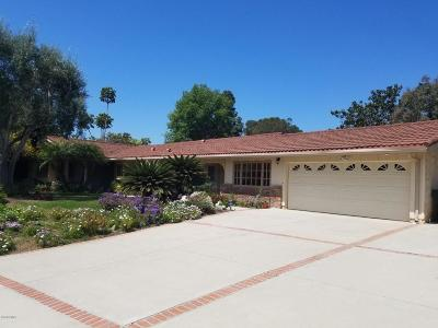 Camarillo Single Family Home For Sale: 1835 Ramona Drive