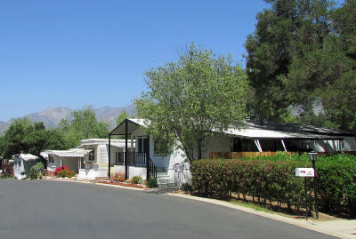 Ojai Mobile Home For Sale: 1225 S Rice Road #25